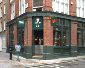 Nuovo ristorante londinese di sushi Yoobi