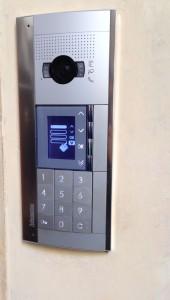 Postazione videocitofonica esterna Sfera New