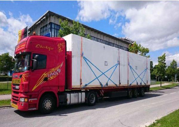 Il trasporto su camion dei Wet-Box