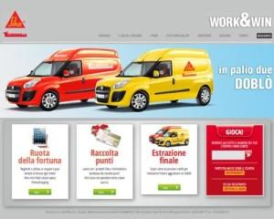 """""""Work&Win"""", il nuovo concorso Sika-Technokolla 1"""