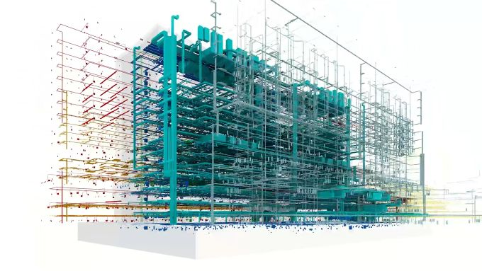 Nuovo ospedale Galeazzi, Disegni da progettazione Bim