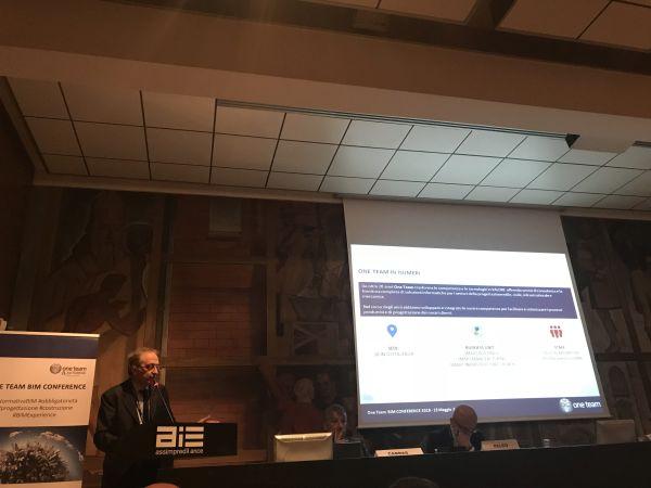 Si è svolta a Milano la One Team BIM Conference