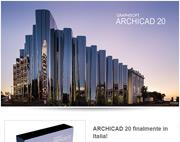 ARCHICAD 20 finalmente in Italia!