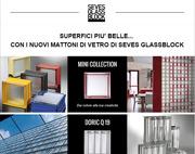 Superfici più belle con i nuovi mattoni di vetro di Seves Glassblock