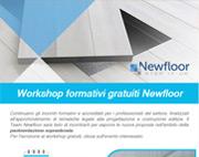 Workshop formativi gratuiti Newfloor