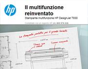 HP reinventa la stampante multifunzione per grandi formati!