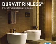 Duravit Rimless, l'innovativa tecnologia di sciacquo di Duravit