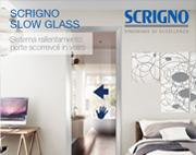 Slow Glass, sistema di rallentamento Scrigno per porte scorrevoli in vetro