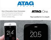 Scopri ATAG One, il cronotermostato wi-fi per gestire la tua caldaia