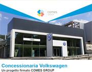 Soluzioni Comes per la concessionaria Volkswagen di Lipomo