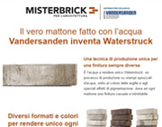 Il vero mattone fatto con l'acqua: esclusiva assoluta da Mister Brick