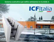 Sistema costruttivo ICF ITALIA per edifici antisismici in Classe A