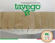 Pareti e solai in legno Italiano – senza colle – tavego