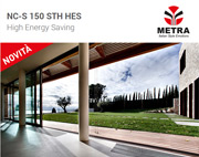 Nuovo sistema per finestre scorrevoli di grandi dimensioni by METRA