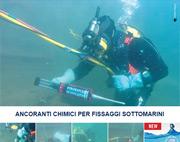 Ancoranti chimici per situazioni estreme: fissaggi sottomarini