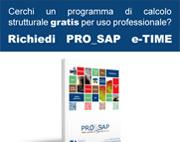 CALCOLO STRUTTURALE CON PRO_SAP