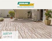 Pavimentazioni effetto legno in calcestruzzo