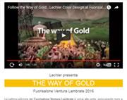 Lechler presenta THE WAY OF GOLD al Fuorisalone Ventura Lambrate