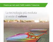 Nuova finestra per tetti piatti FAKRO ColourLine