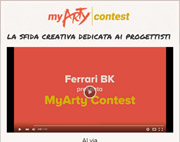 Progetta la tua pavimentazione: concorso MyArty 2016