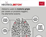 La migliore materia grigia per l'isolamento: Neoisolbeton