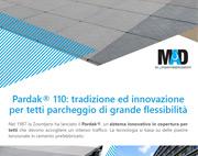 Pardak® 110 – Tetti parcheggio: progettazione, realizzazione, manutenzione