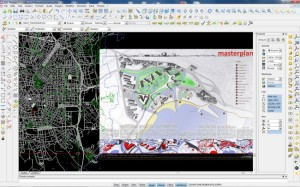 Esempio cartografia vettoriale e immagini raster