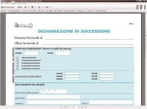 SOFTWARE UTILITA' – SUCCESSIONI – F23