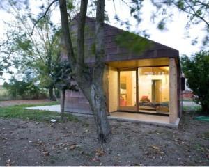Casa T2 in rame e legno