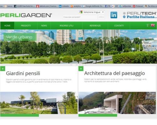 Perligarden nuovo sito verde di perlite for Soluzioni giardini pensili