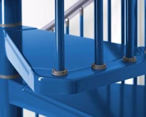 STEEL, la scala per interior contemporanei