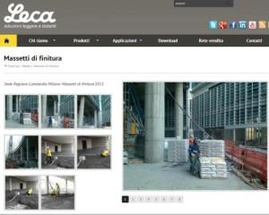 """www.leca.it – l'innovazione on-line a portata di """"social"""""""
