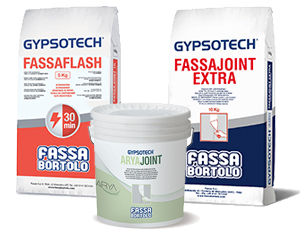 SISTEMA GYPSOTECH®: stucchi e malte