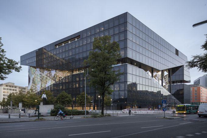 L'Alex Springer Campus a Berlino