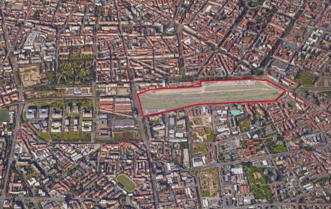 Milano, l'area dell'ex scalo di Porta Romana