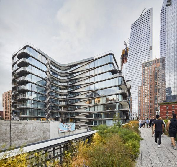 Complesso residenziale 520 West 28th St a New York di Zaha Hadid Architects - Credit Hufton+Crow