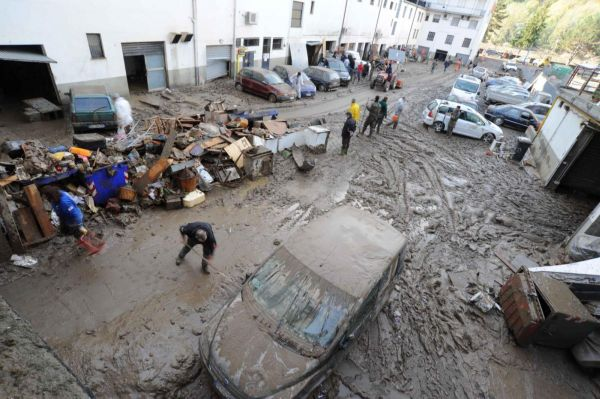 Aulla (La Spezia), alluvione ottobre 2011