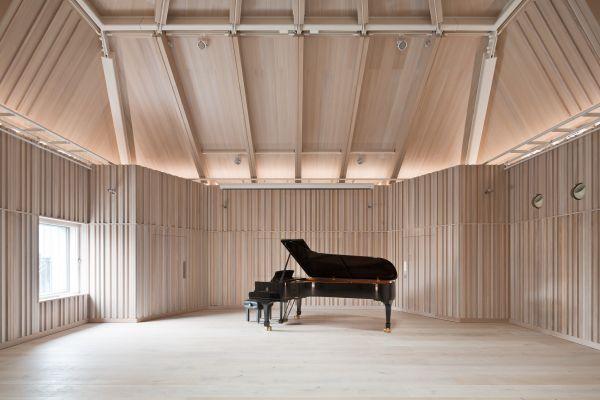 Gli spazi della Royal Academy of Music di Londra premiati con il Wood Awards 2018