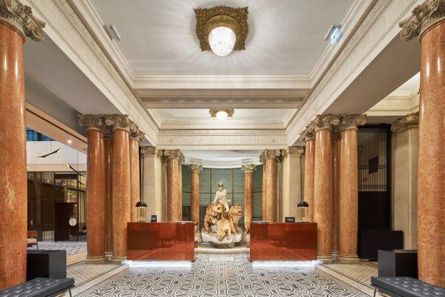 Double Tree by Hilton - Trieste, La hall di ingresso