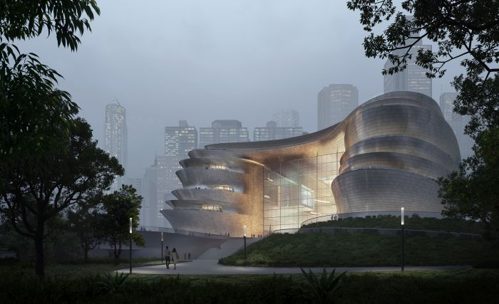 Nuovo museo della scienza di Shenzhen firmato ZHA