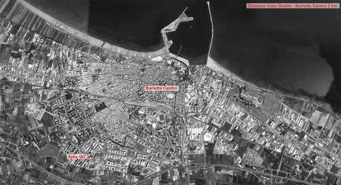 Barletta, l'area di 167 di viale Giulini dove verrà realizzato l'Affordable Housing