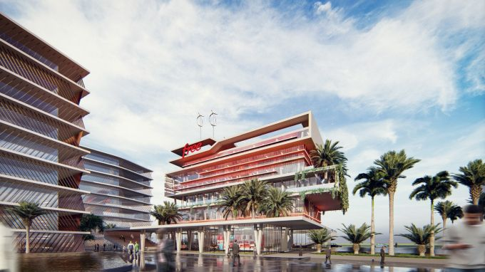 Il nuovo headquarter di Free a Dakar