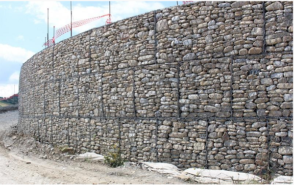 Muri Di Sostegno In Gabbioni.Gabbioni Per La Realizzazione Di Muri Di Sostegno