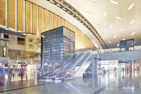 481 impianti Thyssenkrupp Elevator per il miglior aeroporto del Medio Oriente