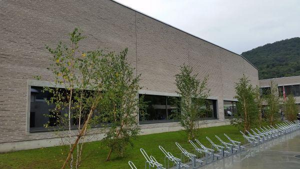 40.000 mattoni SanMarco della linea MAAX per la la scuola media di Caslano
