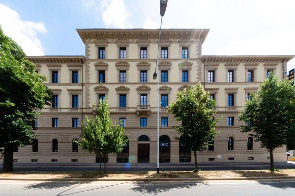 Il palazzo che ospita The Student Hotel Firenze Lavagnini