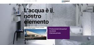 Geberit on line con il nuovo sito 3