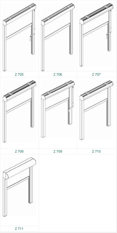 Modelli per sistema zip