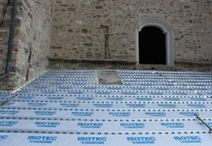 Il restauro della chiesa di San Michele Arcangelo a Mattaleto 1