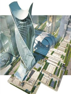 Evolution Tower, la torre a spirale 1
